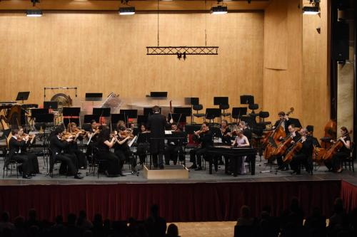 With Janáček Philharmonic, in Ostrava, March 2015